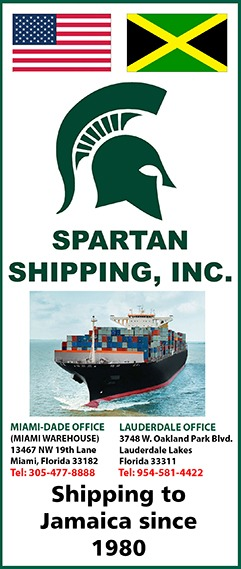 Spartan Shipping, Inc  – Shipping to Jamaica since 1980